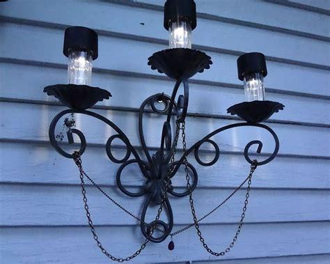 how to make outdoor solar lights fancy outdoor solar light how to make a chandelier