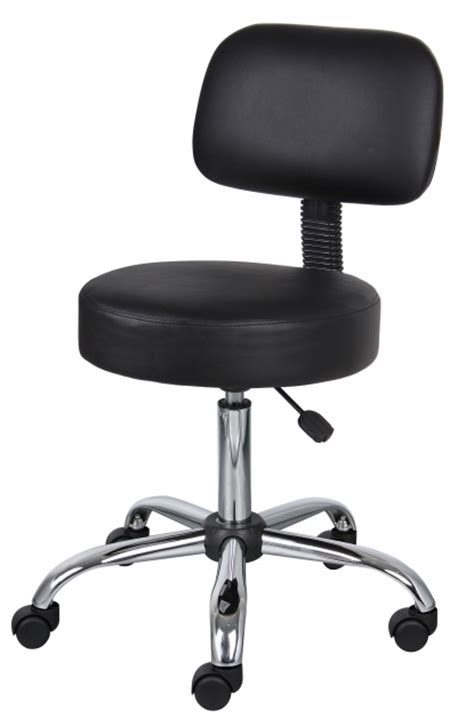 small desk chair with wheels boss small office chairs on wheels black caressoft medical