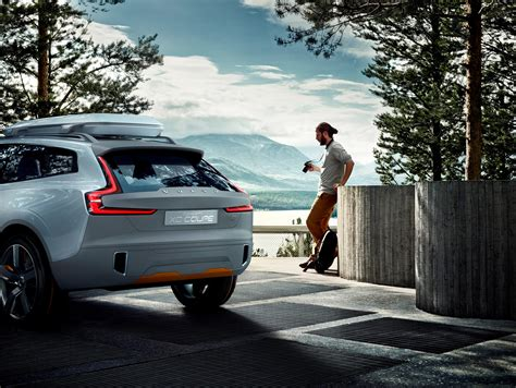 sophisticated  capable volvo xc coupe littlegate
