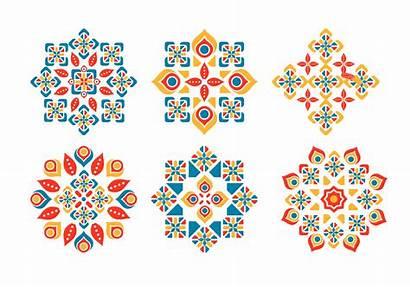 Islamic Geometric Transparent Patterns Ornament Icon Islam
