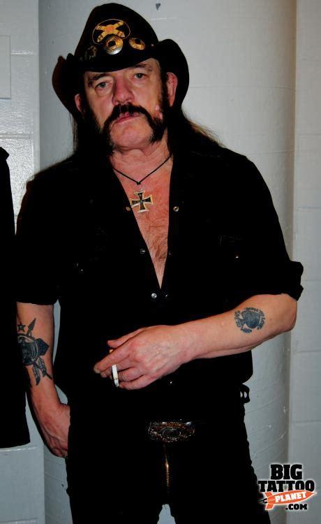 celebrity skin lemmy  motorhead tattoo big tattoo