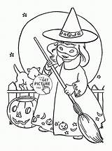 Witch Coloring Halloween Pages Cute Printables Printable Witches Sheets Adult Colouring Kid Tags Hazel Wuppsy Adults Whitesbelfast Disney sketch template