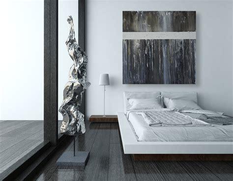black  white modern abstract art   wall modern