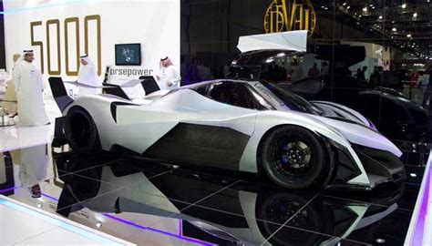 Dubai 5000 Hp Car by 5 000 Hp Devel Sixteen V16 Hypercar Cars Corner