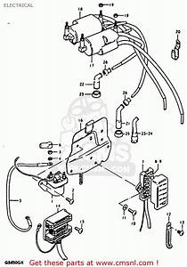 1981 Suzuki Gs1000g Wiring Diagram