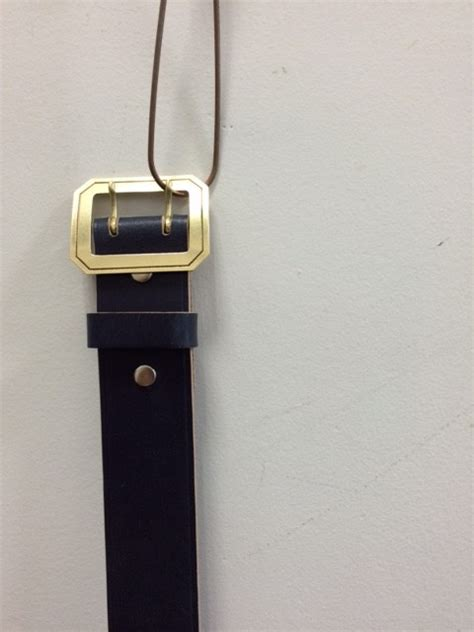 Made In Gm Japanbridle Leather Belt(メイド イン ジーエム ジャパンの
