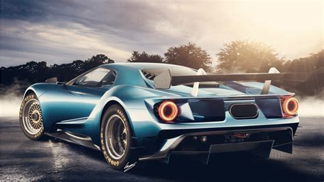 2017 Ford Gt Concept Wallpaper