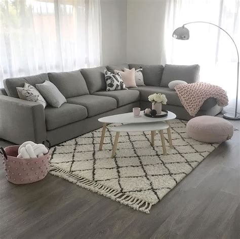 Wohnzimmer Rosa Grau by I The Pops Of Pink Home Decor In 2018