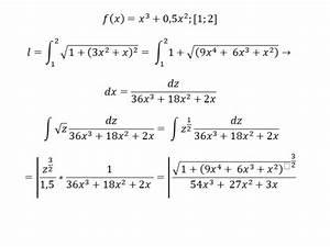 Cidr Berechnen : funktionsl nge x 3 1 2x 2 im intervall 1 2 mathelounge ~ Themetempest.com Abrechnung
