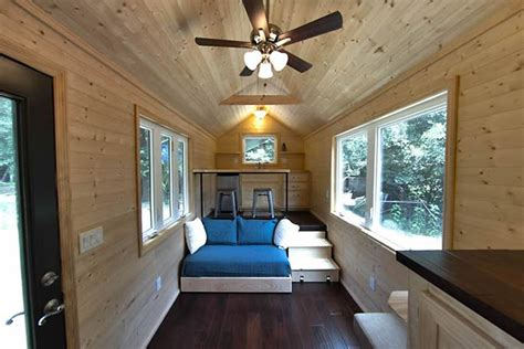 Loft-less 160 Sq. Ft. Tiny House For People Who Hate