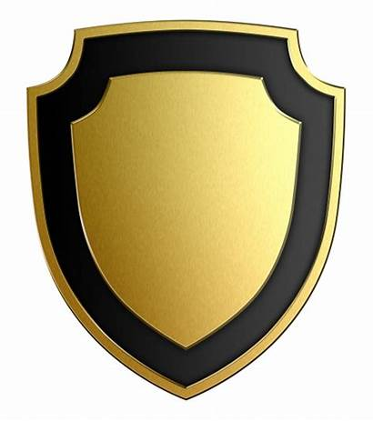 Shield Transparent Yellow Starpng