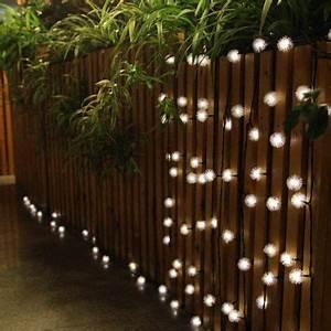Lichterkette Balkon Solar : innoo tech solar led lichterkette f r party garten au enbereich beleuchtung deko 4 8 meter 20er ~ Orissabook.com Haus und Dekorationen