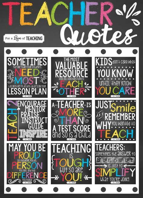 great quotes for kindergarten teachers