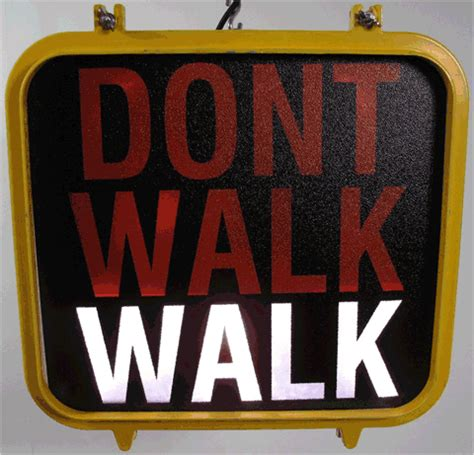 Old Nyc 'don't Walk' Signs Available, For A Hefty Price. Navajo Signs. Road Repair Signs Of Stroke. Nebraska Signs Of Stroke. Hemorrhage Signs. Archer Signs Of Stroke. Brutally Honest Signs. Floral Nursery Murals. Low Blood Signs