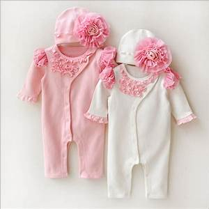 Newborn Princess Style Newborn Baby Girl Clothes Kids ...