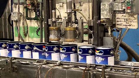 paint manufacturers dulux paint factory tour youtube