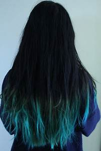 blue ombre hair | Turquoise, My hair and Ombre