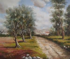 Easy Landscape Oil Paintings