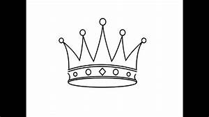 How To Draw A Crown     U041a U0430 U043a  U043d U0430 U0440 U0438 U0441 U043e U0432 U0430 U0442 U044c  U043a U043e U0440 U043e U043d U0443