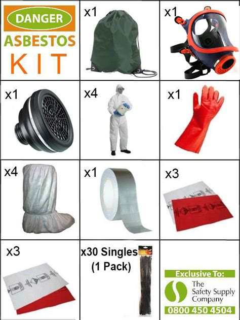 safety supply company complete asbestos ppe kit