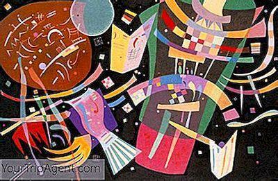Terkeren 30 Lukisan Aliran Abstrak Karya Wassily Kandinsky