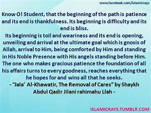 Islamic Reminde... Al Jilani Quotes