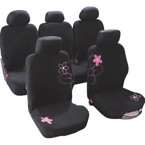 housse de siege voiture housses de siège voiture adaptables fleurs taille 4 custo magic feu vert