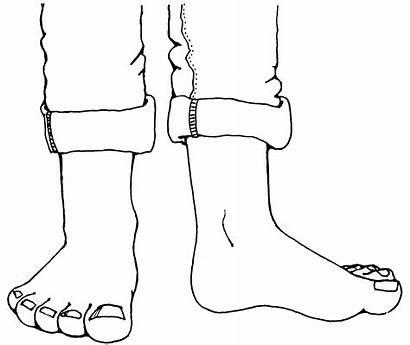 Foot Feet Clipart Cartoon Toes Clip Kid