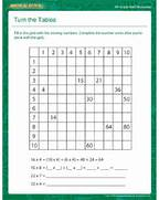 Multiplication Worksheets 6th Grade Printable Turn The Tables Free Math Multiplication Worksheets 6th Grade Halloween Multiplication Grade Math Worksheets Thank You Math Math Multiplication Worksheets 6th Grade 6th Grade Math Worksheets