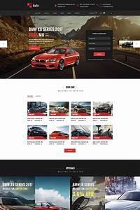 Renton Modern Rent A Car Car Rental Psd Template
