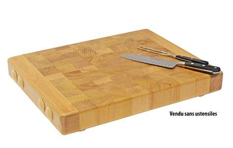 recette de cuisine gratuite billot professionnel bois debout 49 5x39 5 cm tom press