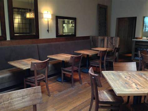 Reclaimed Wood Restaurant Tables Blacks Farmwood