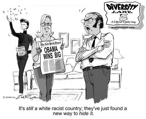 Obama Cartoons Racist