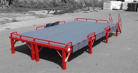custom loading ramps forklift docks professionally