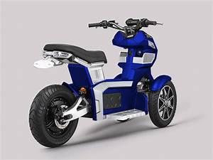 Scooter Electrique 2018 : goodyear ego 2 un scooter lectrique original trois roues ~ Medecine-chirurgie-esthetiques.com Avis de Voitures