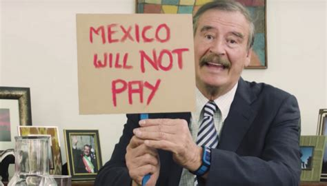 Former Mexican President Vicente Fox Lectures America on ...