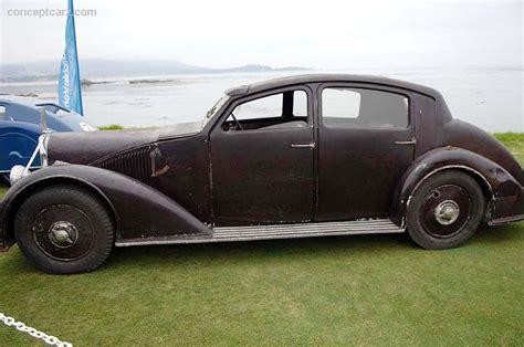 1935 Voisin C25 At The Pebble Beach Concours D'elegance