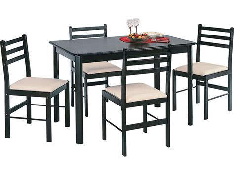 table et chaise cuisine conforama ensemble table 4 chaises quatro chez conforama