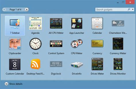 gadgets bureau windows 7 desktop weather gadgets free myideasbedroom com