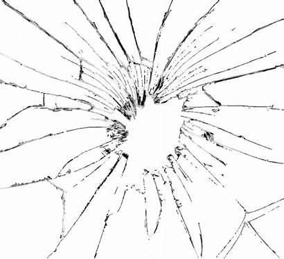 Broken Glass Effect Transparent Shattered Clipart Clip