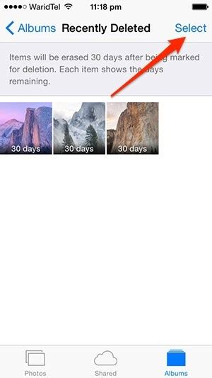 recently deleted photos iphone how to recover or permanently delete photos in ios 8 ios Recen