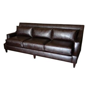 Sleigh Bench Seat by Cutaway Arm Panel Sofa With Low Back Cushionstest
