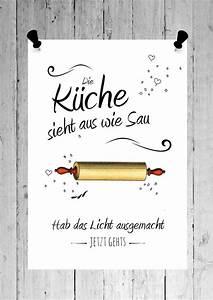 Poster Für Küche : druck fine art bild poster k che print shabby wei din ~ Watch28wear.com Haus und Dekorationen