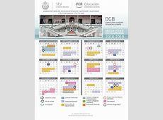Calendario escolar 20172018 Escuela de Bachilleres