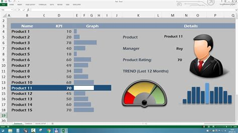 excel templates speedometer chart  excel