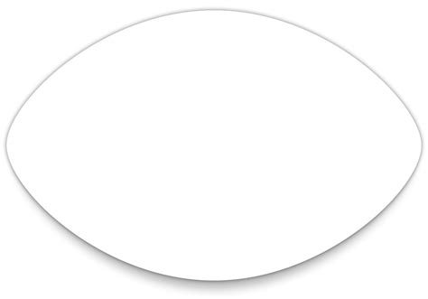 football template 5 best images of football shaped template printable free printable football templates free