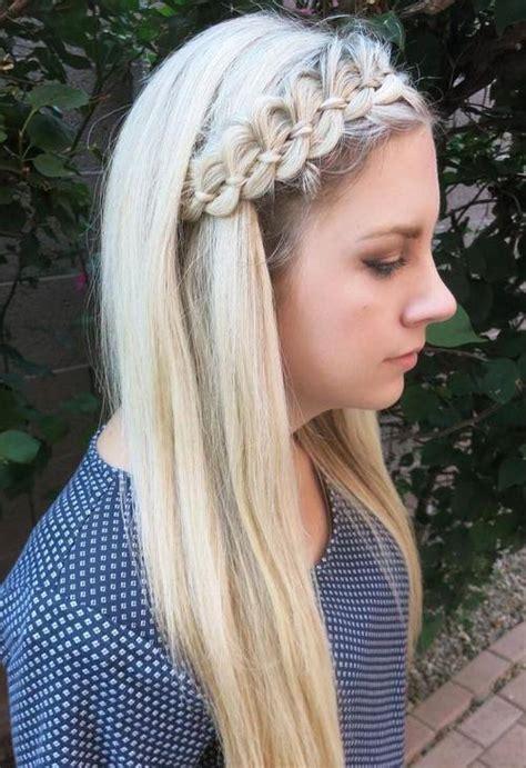 ideas  comfortable braided headband hairstyles