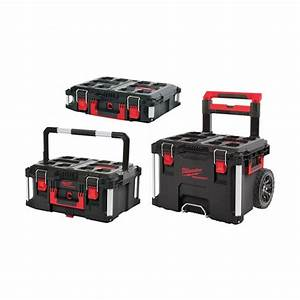 Milwaukee 4932464244 Packout 3 Piece Toolbox System