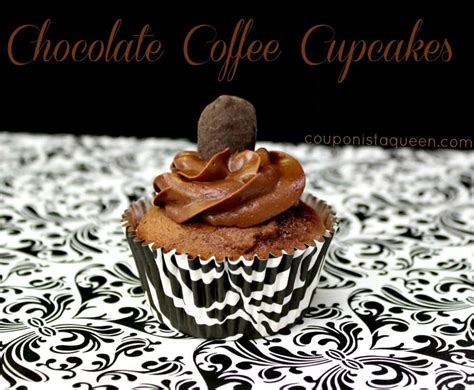 Pipe into 20 cupcake cases. Chocolate Coffee Cupcake Recipe - Couponista Queen ~ Saving, Eating, Crafting