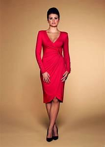 En güzel ve modern kırmızı elbise modelleri ModaFo